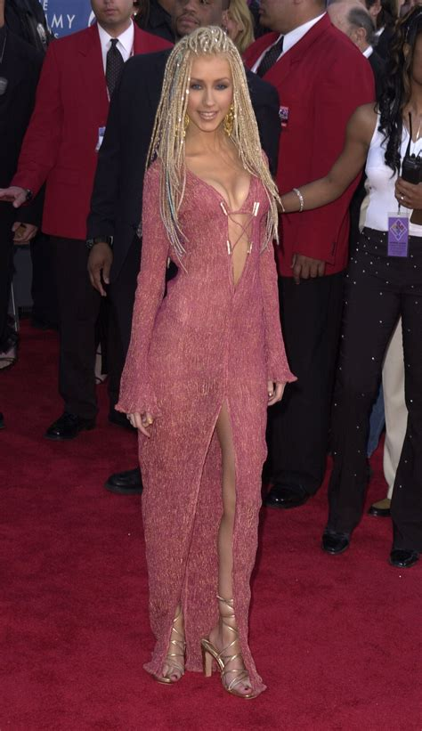 Christina Aguilera, 2001 - The Most Outrageous Grammy