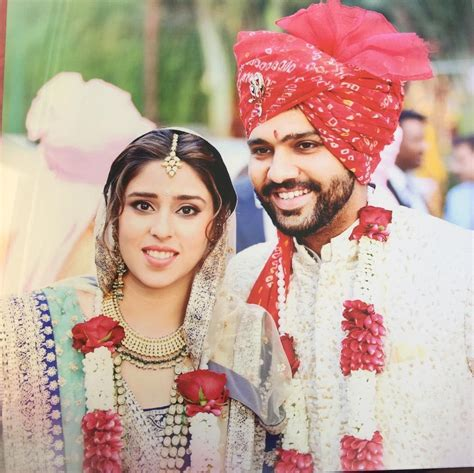 Cutest Pictures Rohit Sharma wife Ritika Sajdeh and