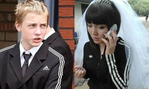 They really love Adidas in Russia