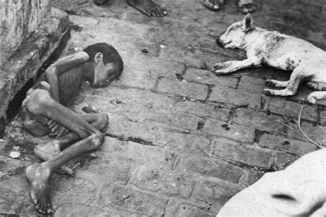 The Bengal Famine of 1943: The Man-Made Famine That Killed