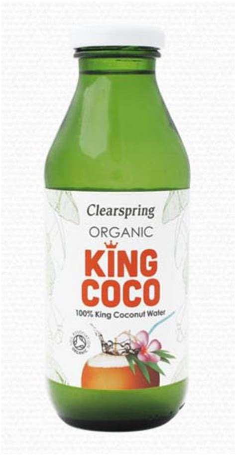 King Coco Organic Coconut Water King Coco in 350ml from