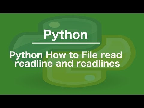 Reading and Writing Files — Python Beginners documentation