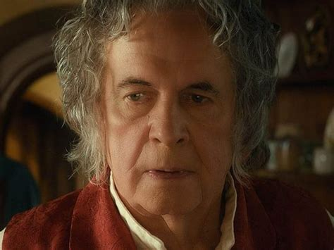 Ian Holm, known for role as Bilbo Baggins in 'Lord of the