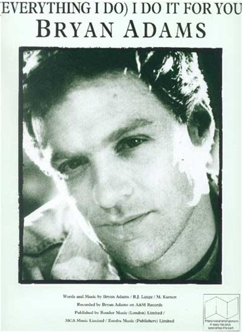 Bryan Adams - Everything I Do I Do It For You - Chanson d
