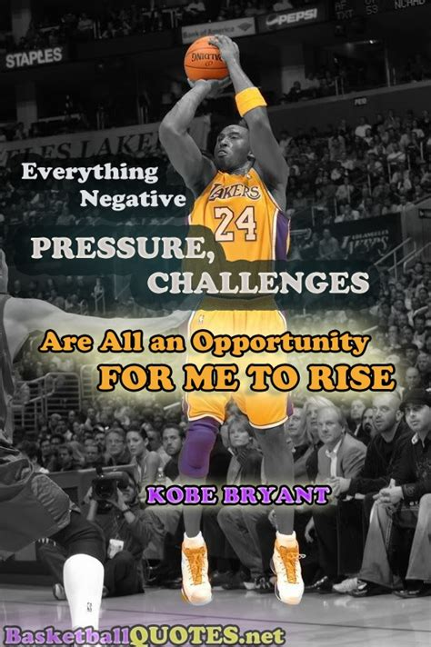 """""""Everything Negative, pressure - challenges, are all an"""