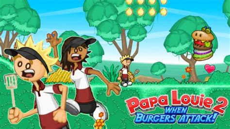 WHACK WHACK / Papa Louie 2 - When Burgers Attack! / Gamer