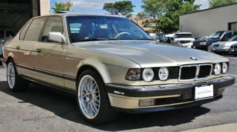 1990 BMW 7-Series 750il for sale: photos, technical