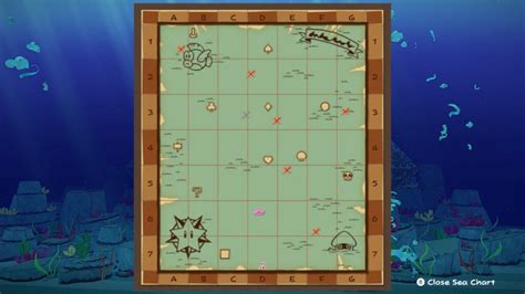 Paper Mario: The Origami King - All Sea Map Island
